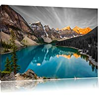 Glorious Lago Moraine in Canada nero /