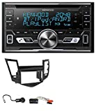 caraudio24 Kenwood DPX-5100BT Aux CD 2DIN MP3 Bluetooth USB Autoradio für Chevrolet Cruze (ab 2009)