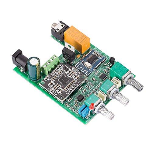 Nobsound 30W Bluetooth 4.2 2.0 Channel Digital Amplifier Mini Power Amp Board Stereo Hi-Fi Home Speaker Car Audio Treble Bass Tone Control (DP4)