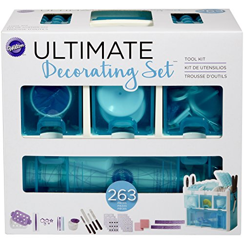 Wilton Ultimate juego de decorar herramienta Kit, multicolor, Set de 263