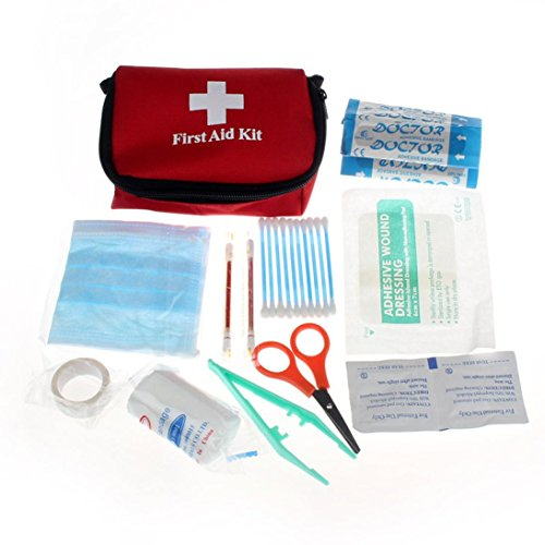 LHWY Emergency Survival First Aid Kit Pack Travel Medical Sports Home Bag Outdoor