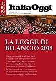 La legge di bilancio 2018 (Italian Edition)