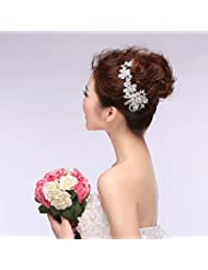 KHSKX-Les Épouses De Coréens Pearl Les Ornements Les Papillons Les Robes De Mariage Mariage Coiffure Accessoires De Robes Accessoires Mariage