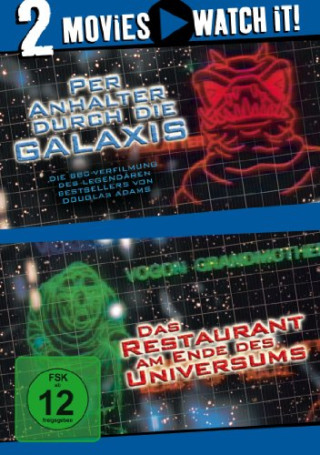 Bild von Per Anhalter durch die Galaxis / Das Restaurant am Ende des Universums [2 DVDs]