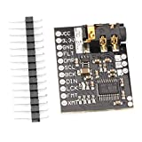 PCM5102A DAC Decoder Digital Audio Eingang DAC Decoder Board Modul 24bit Player Modul für Raspberry Pi -