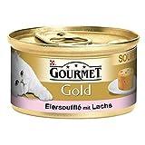 Bild: Gourmet Dose Gold Souffl Lachs 85g12PACK