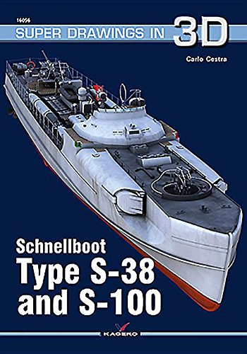 Schnellboot. Type S-38  and S-100 (Super Drawings in 3D) por Carlo Cestra