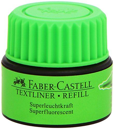 Faber-Castell 1549 63 - Refill für Textliner 1543, 1546 und 1548,  grün
