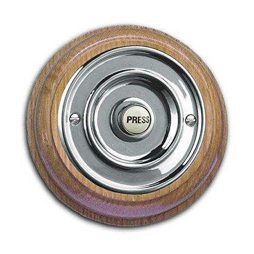 roble-miel-pedestal-barnizada-con-76mm-dia-3-cromado-boton