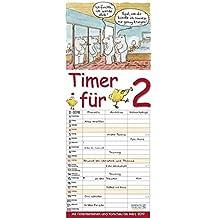 Timer für 2  2018: Familientimer mit Ferienterminen und Vorschau bis März 2019