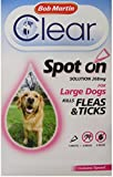 Bob Martin Flea Clear Fipronil Spot on 1 Tube for Large Dog
