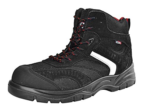 Scan fwbob12 UK 12/Euro 46 Bobcat Low Ankle Hiker Boot – Schwarz (Low Hiker Schuhe)