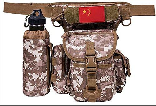 ZLL/ Impermeabile borsa gamba equitazione sport utilità gambe tattico gamba confezioni appassionati militari tasche coscia , lines of desert. desert