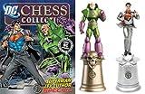Figuren des Schachspiels Harz DC Comics Chess Collection Special Clark Kent & Lex Luthor