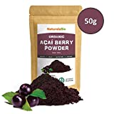 Organic Açai Berries Powder [Freeze - Dried] 50g | 100% Pure Brazilian Acai berry, Lyophilised, Raw and Extract from Acai Berry Pulp | Super-food Rich in Antioxidants and Vitamins | Vegan & Vegetarian Friendly | High Grade Premium Quality Ideal for desser