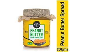 The Butternut Co. Unsweetened Organic Peanut Butter, 200g