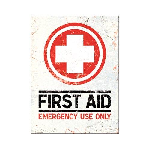 Nostalgic-Art 14267 Nostalgic Pharmacy - First Aid - Classic, Magnet 8x6 cm