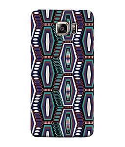 PrintVisa Designer Back Case Cover for Samsung Galaxy S6 Edge :: Samsung Galaxy S6 Edge G925 :: Samsung Galaxy S6 Edge G925I G9250 G925A G925F G925Fq G925K G925L G925S G925T (Fancy attractive glowing voilet purple white green)