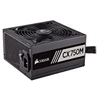 Corsair CX Series Modular CX750M ATX Power Supply - 750 Watt 80 PLUS Bronze Certified Modular PSU