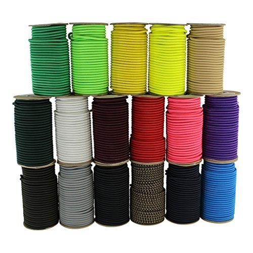 SGT KNOTS Dacron Polyester-Spannseil, elastisch, 100{296bcd953818fc3a6a7ec628abcda59a9742a20f78fad896675b9be5b5dbb95d} dehnbar, feuchtigkeits- und UV-beständig, für DIY-Projekte, kommerzielle Projekte (3,5-152,4 m) 3/16 inch x 500 feet neon-orange