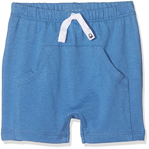 United Colors of Benetton Baby-Jungen Shorts, Blau (Federal Blue 2h4), 74