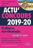 Culture territoriale - concours 2019-2020