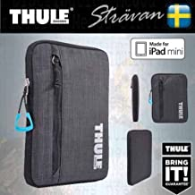 Thule imbottita impermeabile universale Soft Sleeve/custodia/borsa per 7/20,3 cm tablet/e-reader dispositivi – per iPad Mini 1/2/3/4, Google Nexus 7, Asus Padfone mini, Amazon Kindle Fire HD/HDX 17,8 cm Kobo Aura One/H20, Kindle Touch/Paperwhite/Voyager, Sony eBook, Samsung Galaxy Tab 7/Tab A, Lenovo, Acer Iconia B1, universale, Archos 7 e molti altri