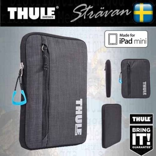 Thule Dick Gepolsterte, wasserabweisende Universal Soft Sleeve/Schutzhülle/Tasche für 7/20,3 cm Tablet/E-Reader Geräte – Für iPad Mini 1/2/3/4, Google Nexus 7, Asus PadFone Mini, Amazon Kindle Fire HD/HDX 17,8 cm Kobo Aura One/H20, Kindle Touch/Paperwhite/Voyager, Sony eBook, Samsung Galaxy Tab 7/A, Lenovo Tab, Acer Iconia B1, Universal, Archos 7 und viele mehr (Samsung Tablet Tasche Griffin)