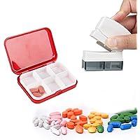 Preisvergleich für Tablettenteiler, Easy Eagle Medikamententeiler Pillenschneider mit Tablettenbox