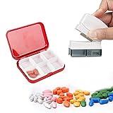 Pilulier, Easy Eagle Coupe-Comprimés avec Boîte à médicament