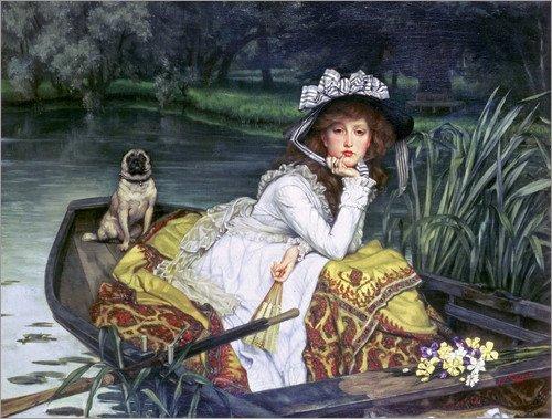 poster-50-x-40-cm-reflections-de-james-tissot-bridgeman-images-reproduction-haut-de-gamme-nouveau-po