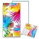 Asciugamano da Spiaggia in Microfibra Grande Asciugatura Rapida Asciugamani Bagno per Adulti Coperta da Viaggio Sport Palestra Yoga Mat