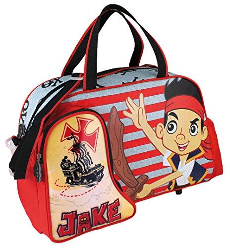 (Jake and the Neverland Pirates, Schulranzen rot)