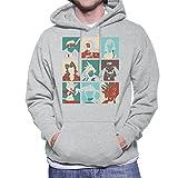 Final Fantasy 7 Pop Art Men's Hooded Sweatshirt