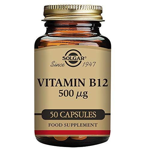 VIT. B12 500MG 50CAP -