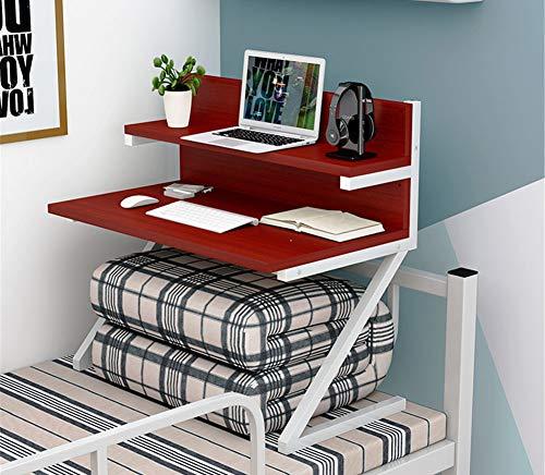 Exing Computadora Escritorio Mesa Simple Dormitorio Artefacto Colegio Cama con computadora Mesa...