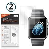 Apple Armbanduhr 42mm Displayschutzfolie, BoxWave® [ClearTouch AntiGlare (2er Pack)] Anti-Fingerprint Matt Folie Haut für Apple Watch 42mm