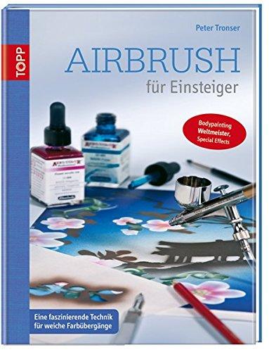 Mann-schablonen Kleiner (Airbrush für Einsteiger: Eine faszinierende Technik für weiche Farbübergänge)