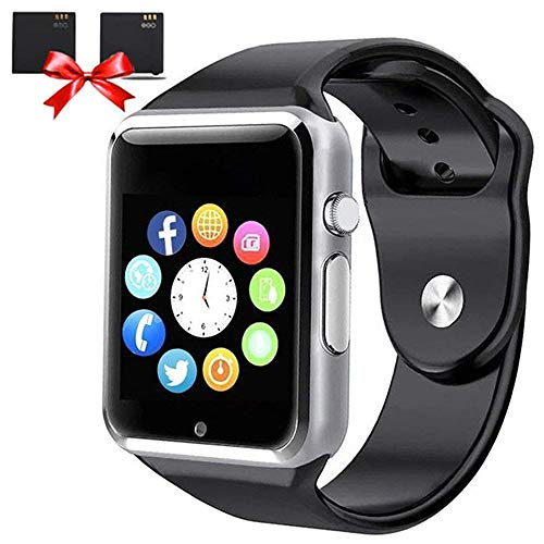 Bluetooth Smart Watches - ANCwear Smart Watch for Android Phones with SIM Card Slot Camera, Fitness Tracker Watch with Sleep Monitor, Pedometer Watch for Women Men Kids Compatible Iphone Android Phone