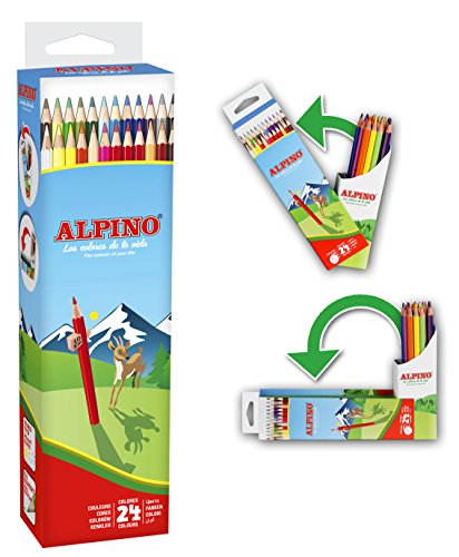Alpino AL010024 – Lápices, 24 unidades