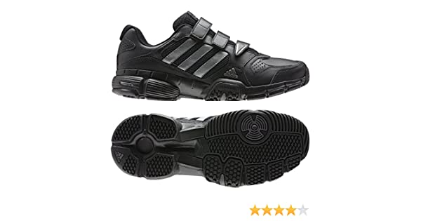 adidas Herren Klett Schuhe Barracks Premier CF schwarz
