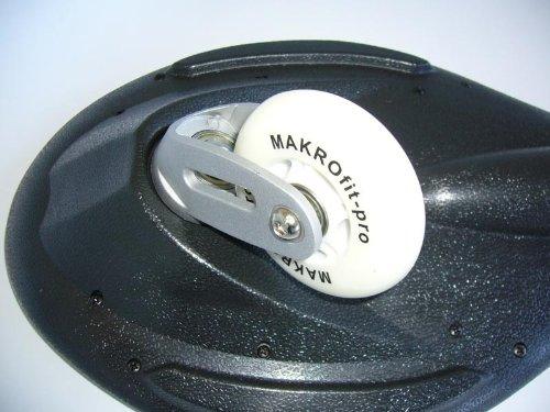 MAXOfit Waveboard Pro Close Mini bis 129 kg mit Tasche, mauritius, 72x19,5 , 14072 -