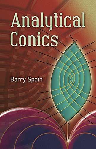 Analytical Conics (Dover Books on Mathematics) por Barry Spain