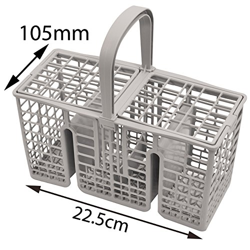Spares2go 45cm largo delgado cubiertos cesta jaula