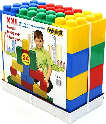 Wader Quality Toys - Vehículo Juguete 24 Piezas Wader
