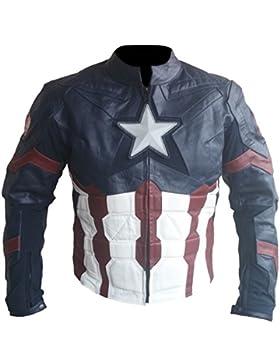 Classyak–Chaqueta capitán de Fashion de piel Ultron alta calidad