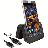 mumbi DESIGN USB Dock für Samsung Galaxy Note 3 Dockingstation / Ladestation + USB Datenkabel