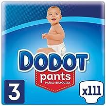 Dodot Pants - Pañal-Braguita Talla 3, Fácil De Cambiar Con Canales De Aire
