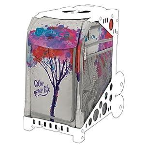 ZUCA Farbe Your Life Einsatz Tasche mit Geschenk Sitzkissen–Rahmen Separat erhältlich