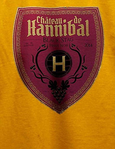 Chateau De Hannibal T-Shirt Gelb
